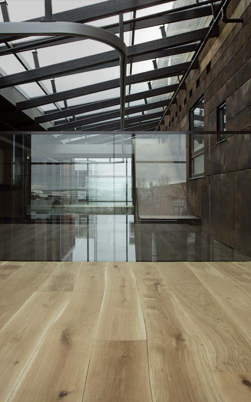 Bolefloor naturally curving floorboards Oak +/- $250 per square meter