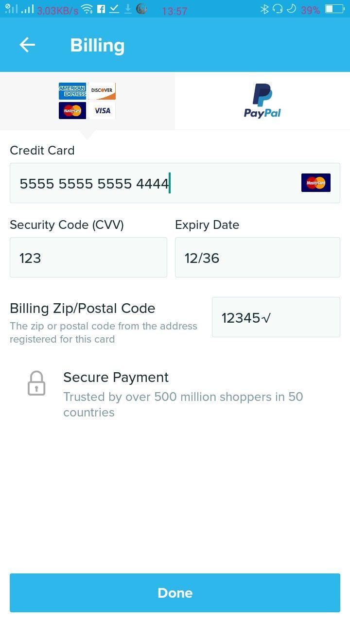 Social Paypal Credit Card Credit Card Coding