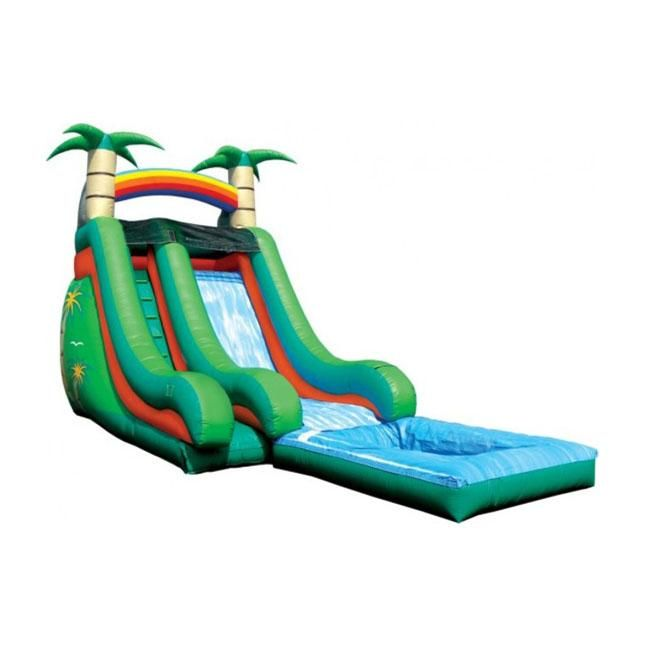 Small Blow Up Water Slide With Images Inflatable Water Slide Water Slides Water Slide Rentals