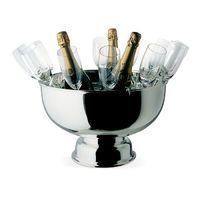 Champagnerkühler mit 12 Sektflöten