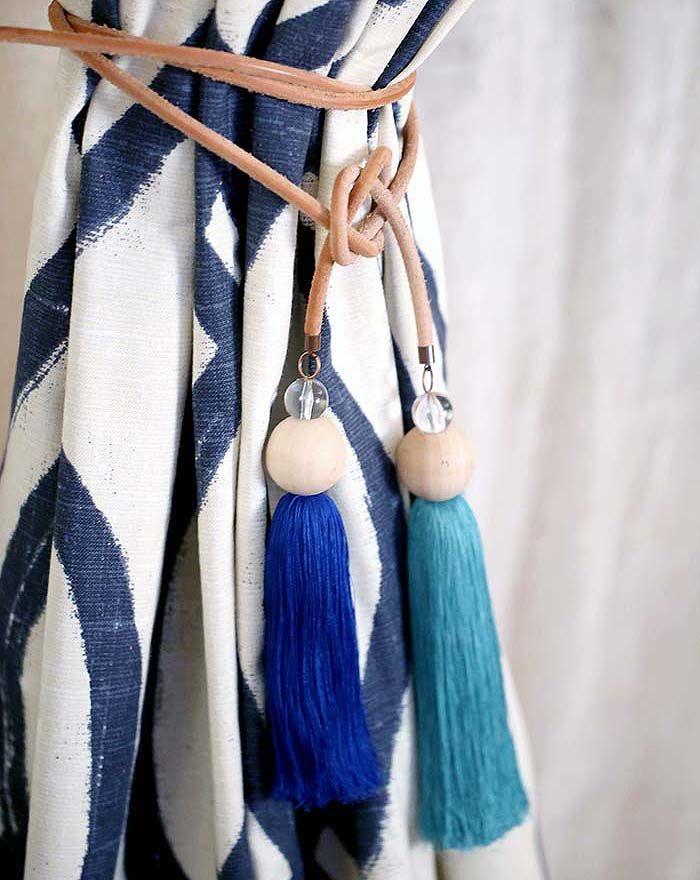 best 25 curtain tie backs ideas on pinterest tie backs for curtains diy curtains and black. Black Bedroom Furniture Sets. Home Design Ideas