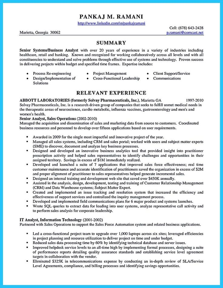 cool Create Your Astonishing Business Analyst Resume and Gain the - agile business analyst resume