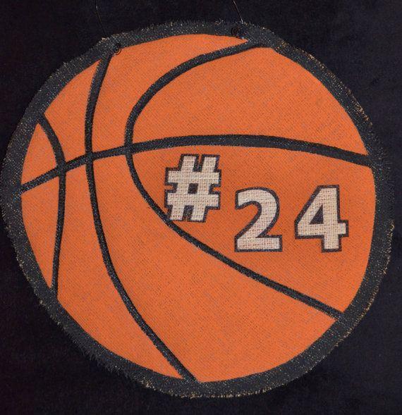 93 Best Sports Door Hangers Images On Pinterest Burlap