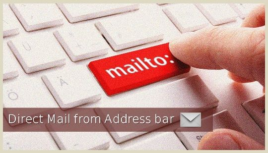 "Compose Direct Mail from Address Bar Browser 2016 — To compose an email, every time you required to open your email client & click the ""Compose"" button. Here we have presented a quick and easy way to compose a new email directly from your address bar of the browser. Learn how to compose direct mail message from Chrome's address bar in your default email sending program from any web browser. Gmail sending boost."