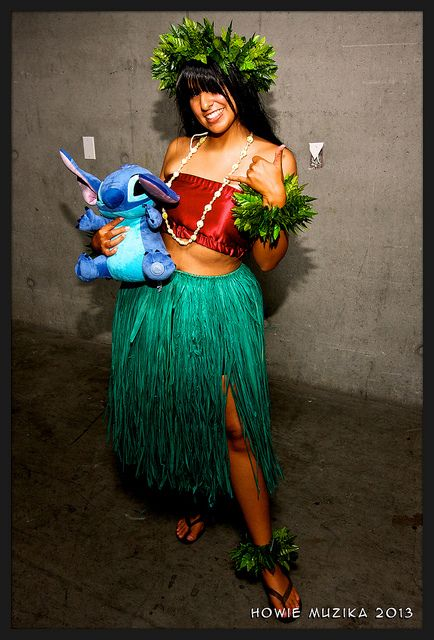 LILO & STITCH: San Diego Comic-Con 2013. I think I just found my Halloween costume.