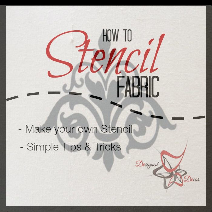 am sharing how to make your own disposable stencil and how to stencil. Black Bedroom Furniture Sets. Home Design Ideas