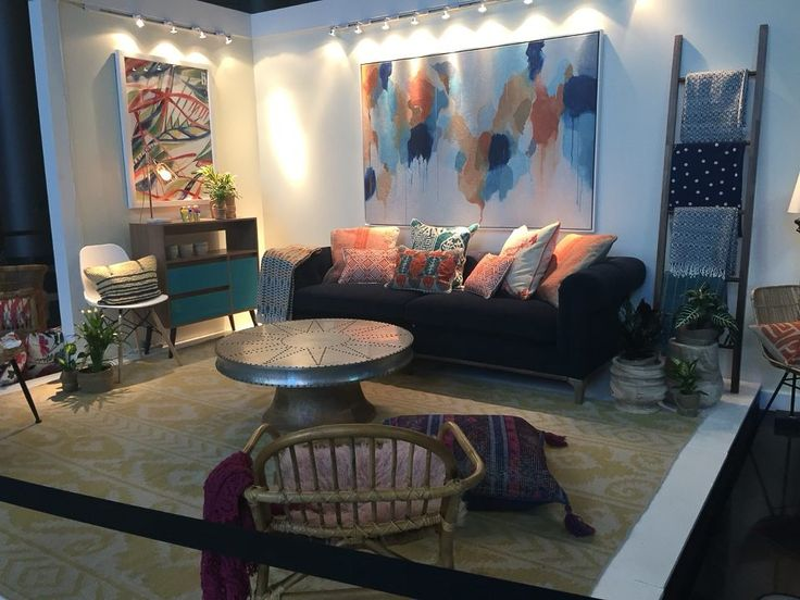 This Living Room Style At The Las Vegas Furniture Market Grabbed Our Eye  With Its Combination Part 78