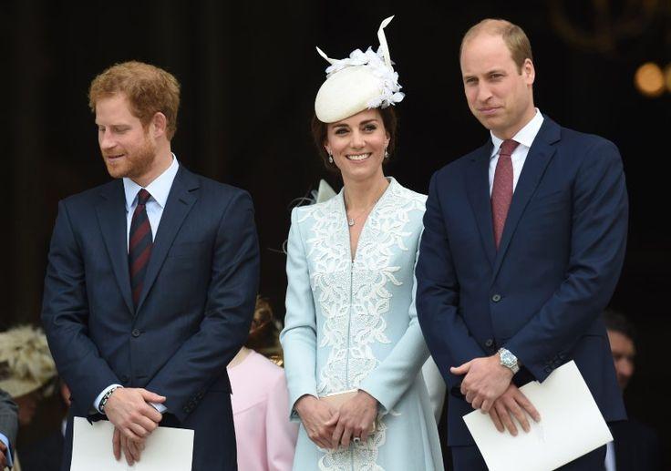 Harrys Bruder, Prinz William und dessen Frau Kate liegen ebenfalls im Clinch...