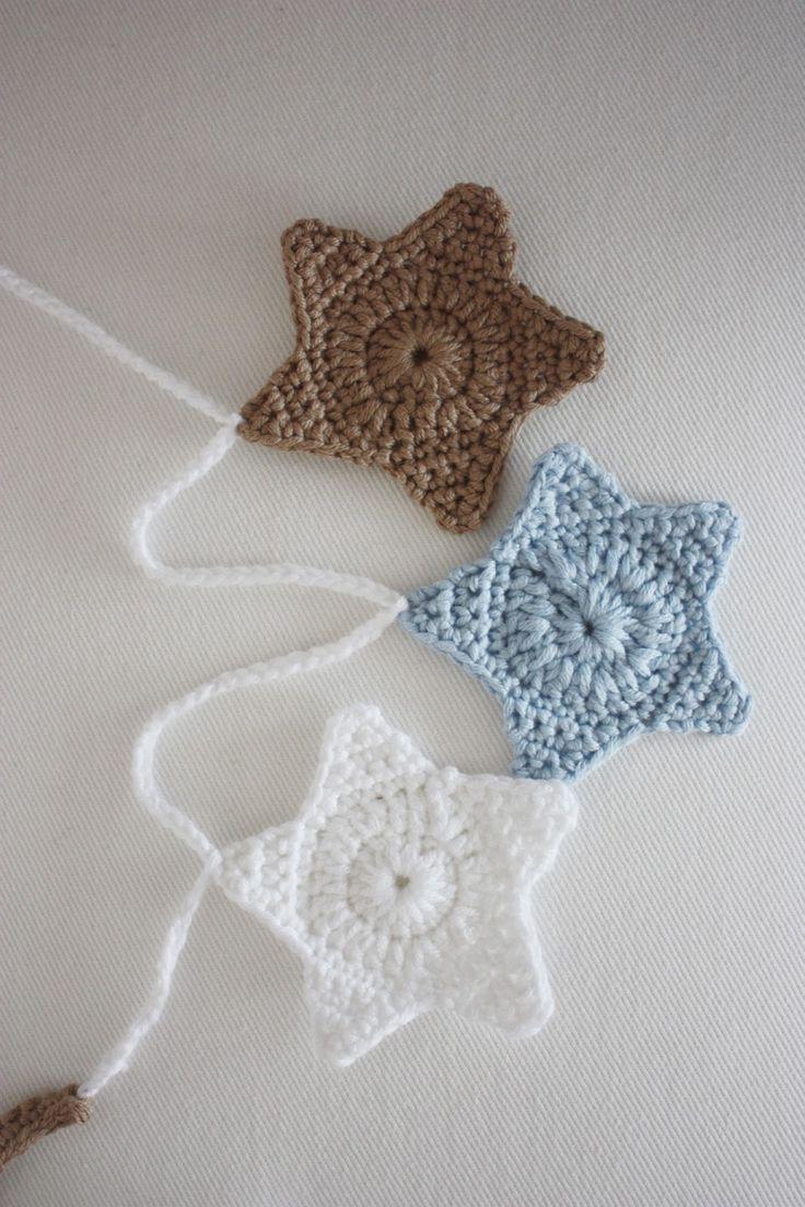 161 best # Garland ✰ Girlanden ✰ Crocher* images on Pinterest ...