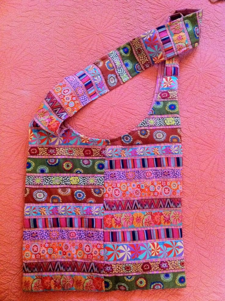 Would fabric strip purses cutie