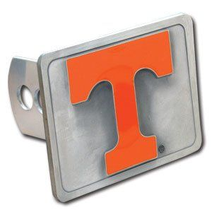 Tennessee Volunteers Trailer Hitch Cover by FansEdge. $36.37. Has official team logos and colors. Officially Licensed Merchandise. Made of corrosion resistant pewter alloy. Fits all Class 2 Hitches. Epoxy filling will not fade or bleed. Pull for the Tennessee Volunteers! Show every driver behind you your team spirit with this handsome Tennessee Volunteers trailer hitch cover. Just the thing for tailgate parties, too! Solid pewter cover features heavy-gauge yoke (rat...