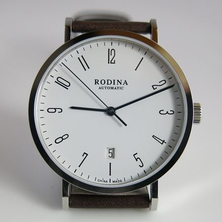 Enhanced Rodina automatic wrist watch by Sea-Gull ST2130