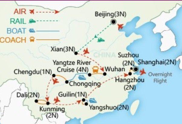 Wendy Wu Tours - Grand Tour of China 26 Days