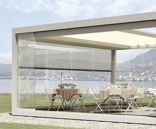 64 best images about weinor en stobag te koop bij td on pinterest shade screen awning patio - Aluminium pergola met schuifdeksel ...