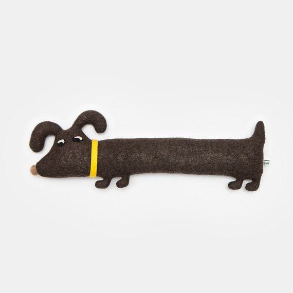 Rufus the Dog Lambswool Plush Made to order by saracarr on Etsy, $56.00