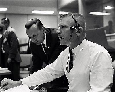 Flight Directors Chris Kraft Gene Kranz & John Hodge - 8X10 Nasa ...