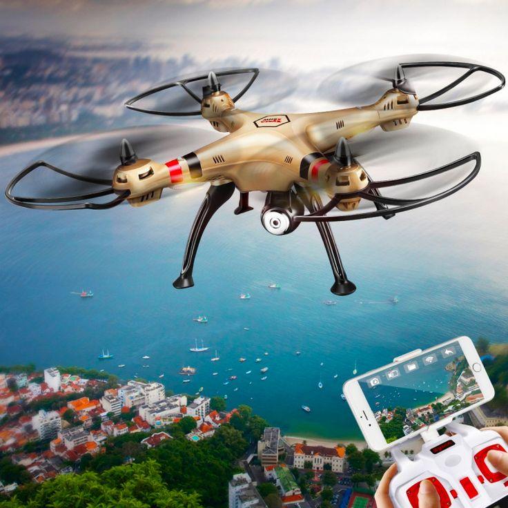 SYMA X8HW FPV Квадрокоптер - 6-Axis управления полетом, 3D флип, Headless режим, автоматического зависания, 1MP Камера, Wi-Fi