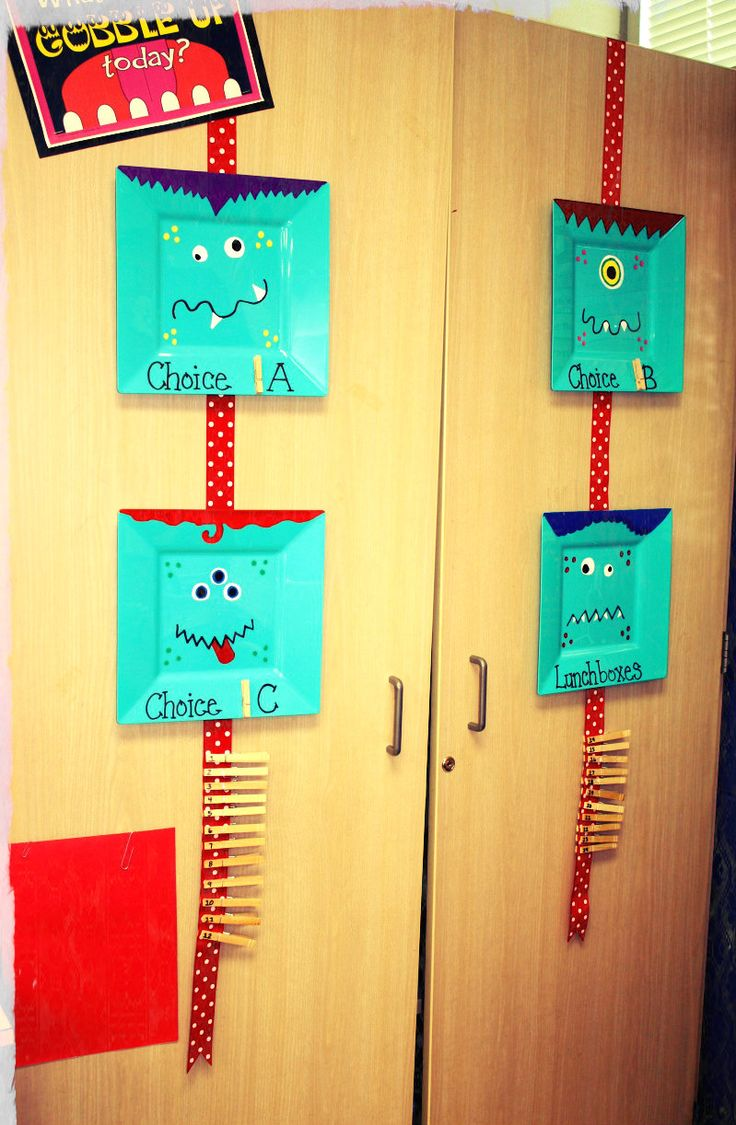 Classroom Attendance Ideas : Best images about monster themed classroom on