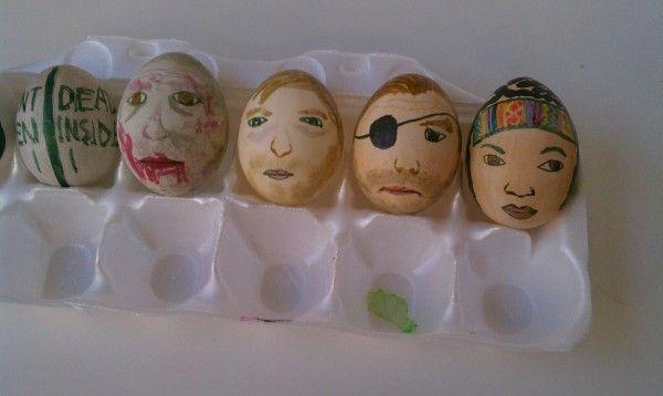 Walking Dead Easter eggs