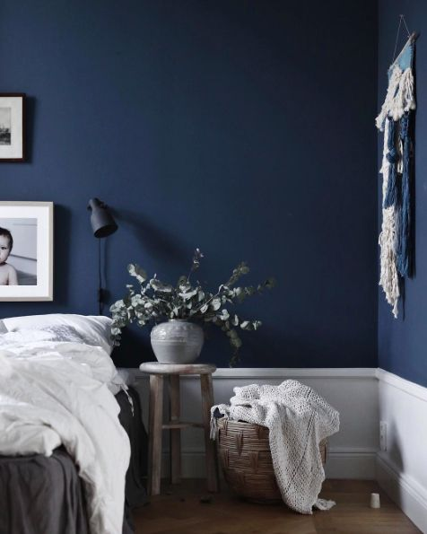 Black And Dark Blue Bedroom best 25+ dark blue bedrooms ideas on pinterest | navy bedroom
