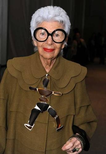 Zelda Kaplan. A true style original and reinventor of self. RIP Zelda.