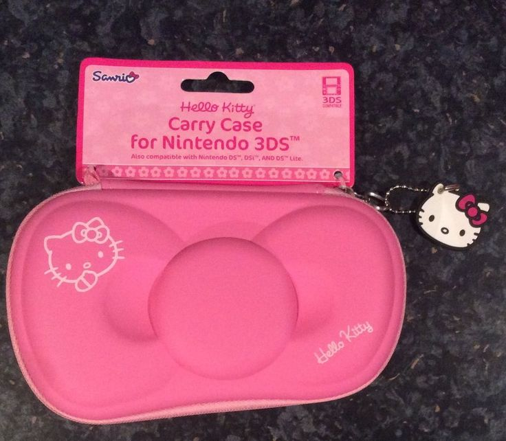 New Hello Kitty EVA Bow Case (Nintendo 3DS/Dsi/DS Lite) Pink