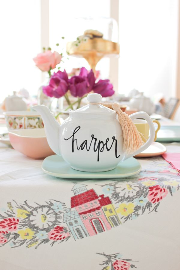 Tea for two, please. Inspired by @Lauren Saylor // A Fabulous Fete.