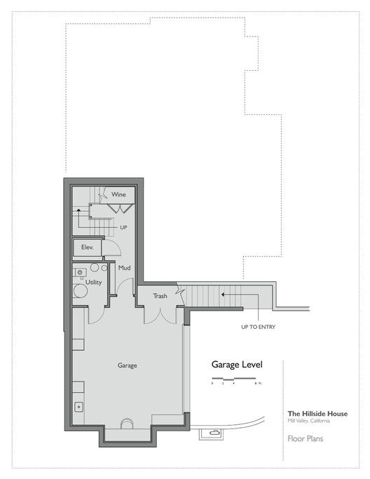 Hillside House,Plan