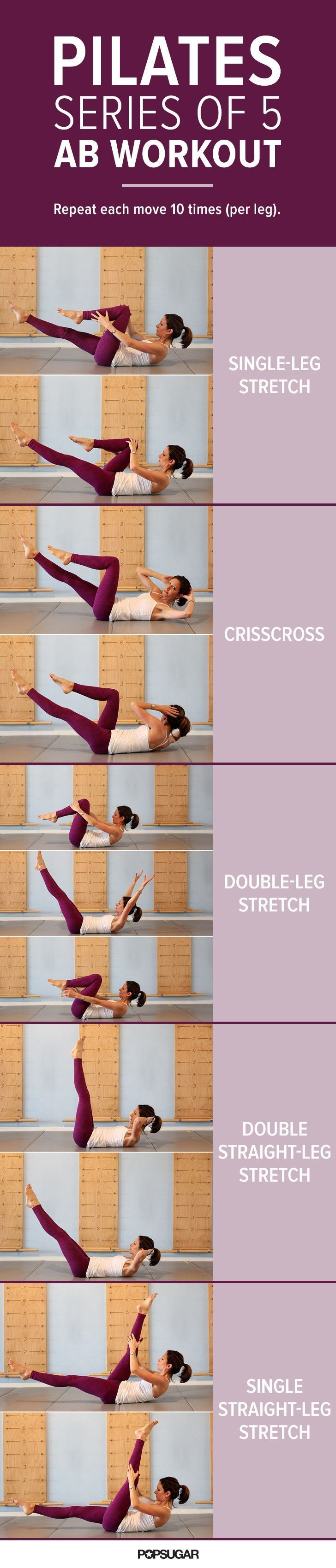 This group of classic Pilates moves, collectively known as the Series of Five, is the perfect addition to any workout.
