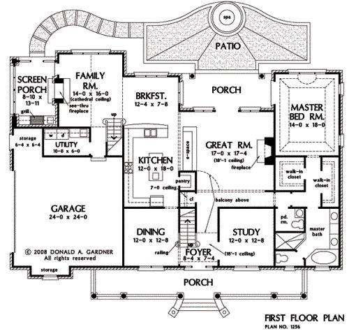 The eastlake house plan