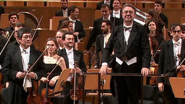 ORCAM 05 mar 2016 Concierto de la Orquesta de la Comunidad de Madrid junto con la joven orquesta de la Comunidad de Madrid, desde el Auditorio Nacional de Madrid que interpretan obras de Enrique Granados, Juan Medina y Dmitri Shostakovich.
