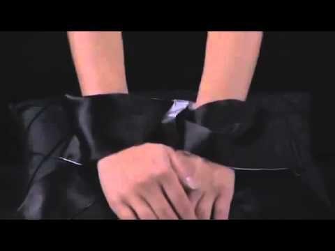 50 Shades of Grey - Szarfa do wiązania rąk - Satin Restraint Wrist Tie - Świat-Erotyki.pl