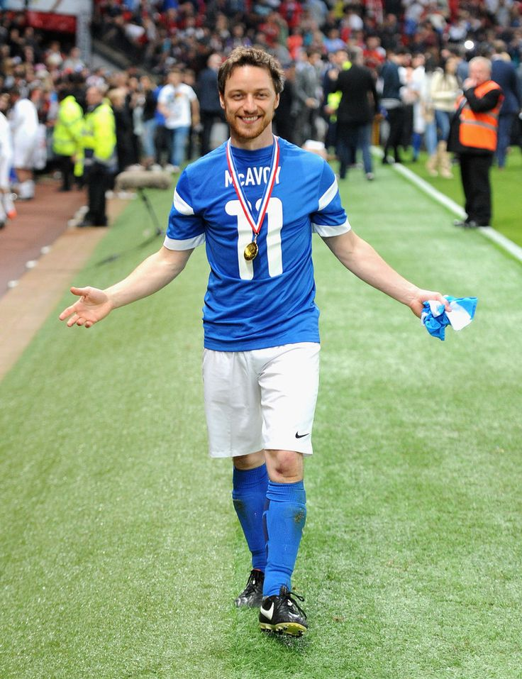 James McAvoy Photos: Soccer Aid 2014