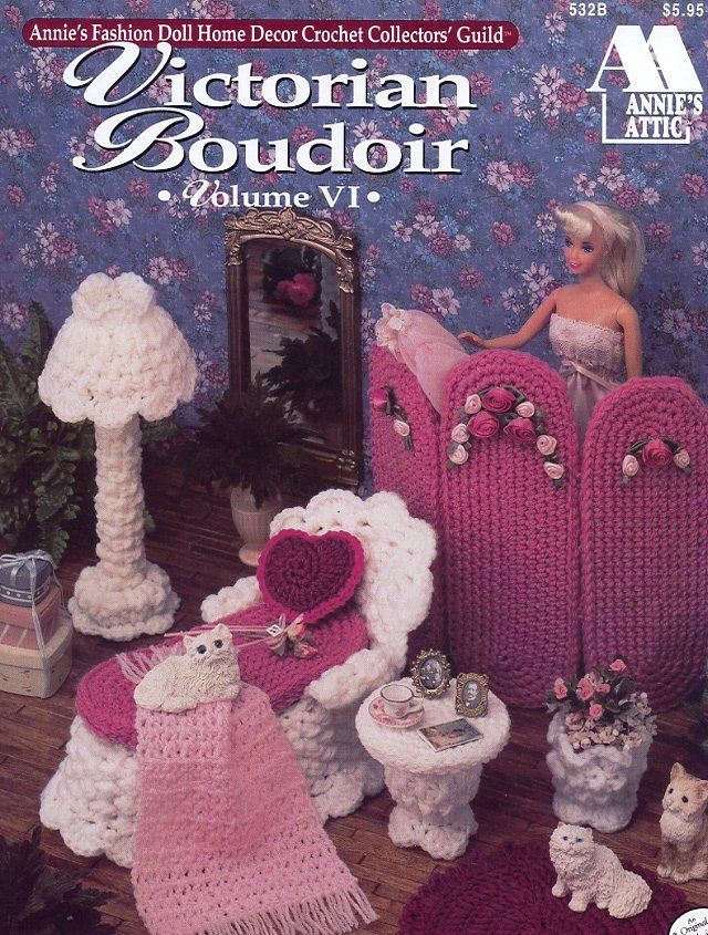 Victorian Boudoir Volume VI for Barbie Doll Crochet Pattern 30 Days to Shop Pay | eBay
