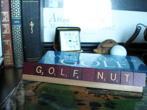 Golf Nut Decor By Ahhastudio On Etsy, $14.00