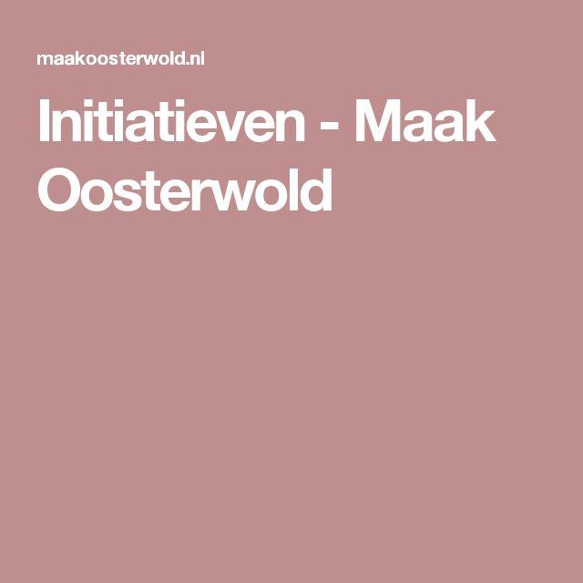 Initiatieven - Maak Oosterwold