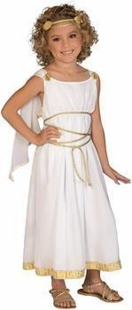 Women's Little Grecian Goddess Costume Child