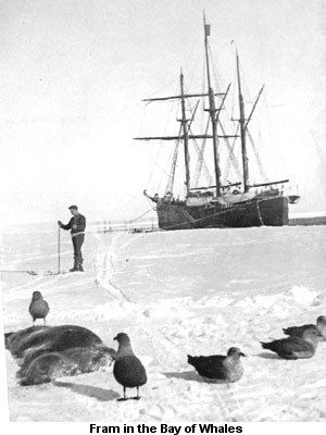 ansen's Fram expedition was an 1893–1896 attempt by the Norwegian explorer Fridtjof Nansen to reach the geographical North Pole by harnessing the natural east–west current of the Arctic Ocean. In the face of much discouragement from other polar explorers, Nansen took his ship Fram to the New Siberian Islands in the eastern Arctic Ocean, froze her into the pack ice, and waited for the drift to carry her towards the pole.