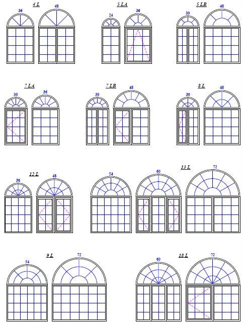 Round top window design pvc half round windows view for Round top windows