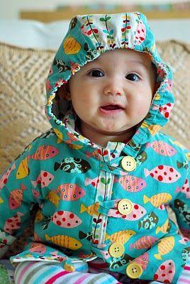 cute baby hoodie pattern!