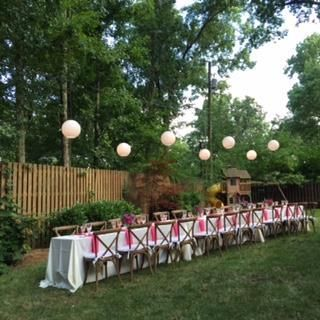 Belle Meade TN Special Event and Outdoor Party Lighting