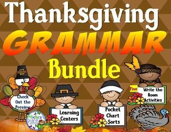 Thanksgiving Grammar Bundle Differentiated Activities is a complete set of Thanksgiving Activities to help students to practice their grammar skills. Focus is on using hands-on manipulatives to enhance their learning. Areas of study are: ♦️ Nouns: person, place, thing ♦️ Nouns are sorted into categories for