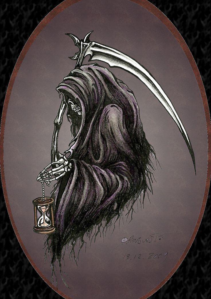 Grim reaper by Barguest.deviantart.com on @DeviantArt