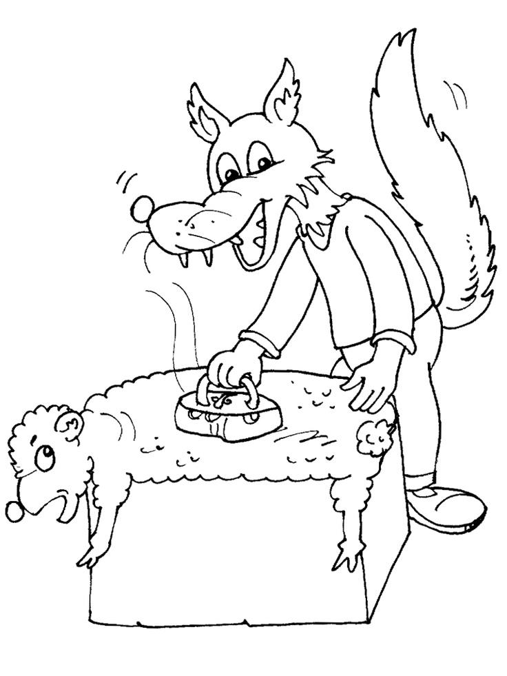 82 best images about dessins de loups colorier on - Coloriage gulli ...