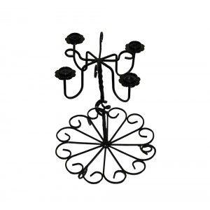 Suport fier forjat aranjamente florale 3