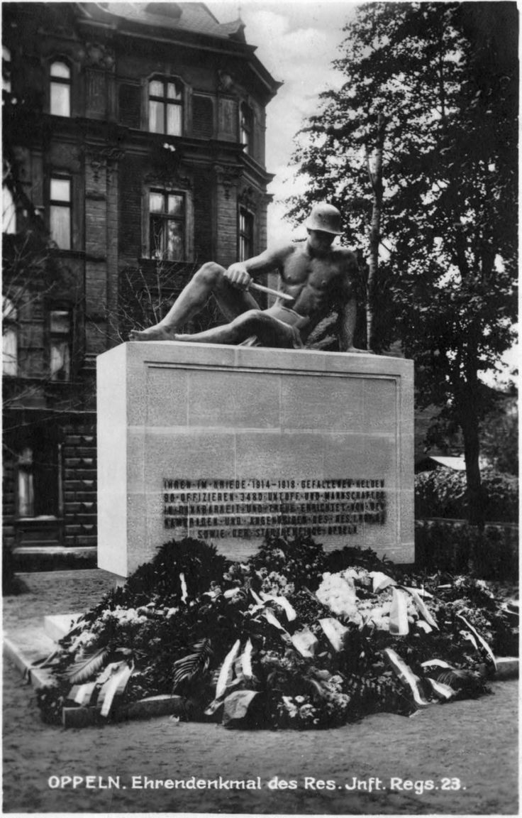 oppeln01.jpg (894×1400) Pomnik 23. pułku piechoty rezerwy