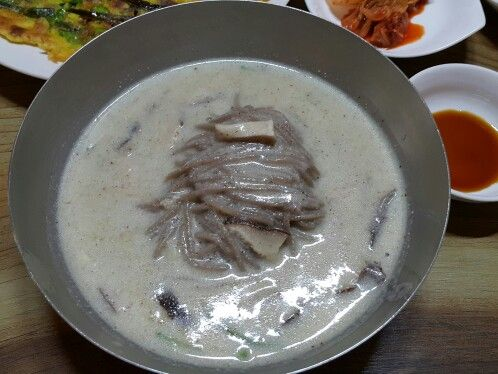 단야식당 들깨국수~~^^