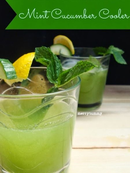 Healthy Drinks: Mint Cucumber Cooler Recipe