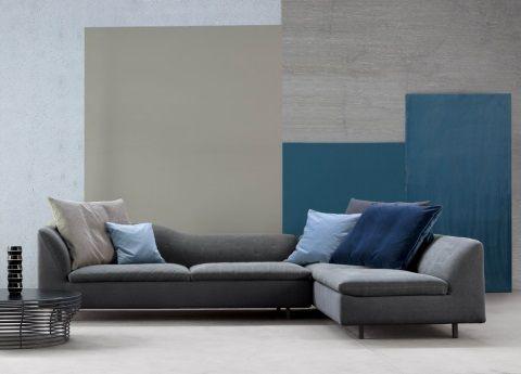 Bonaldo Sinua Corner Sofa - the very latest fab new sofa from Bonaldo Italy