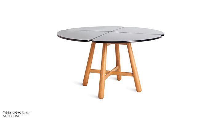 mesa trevo jantar